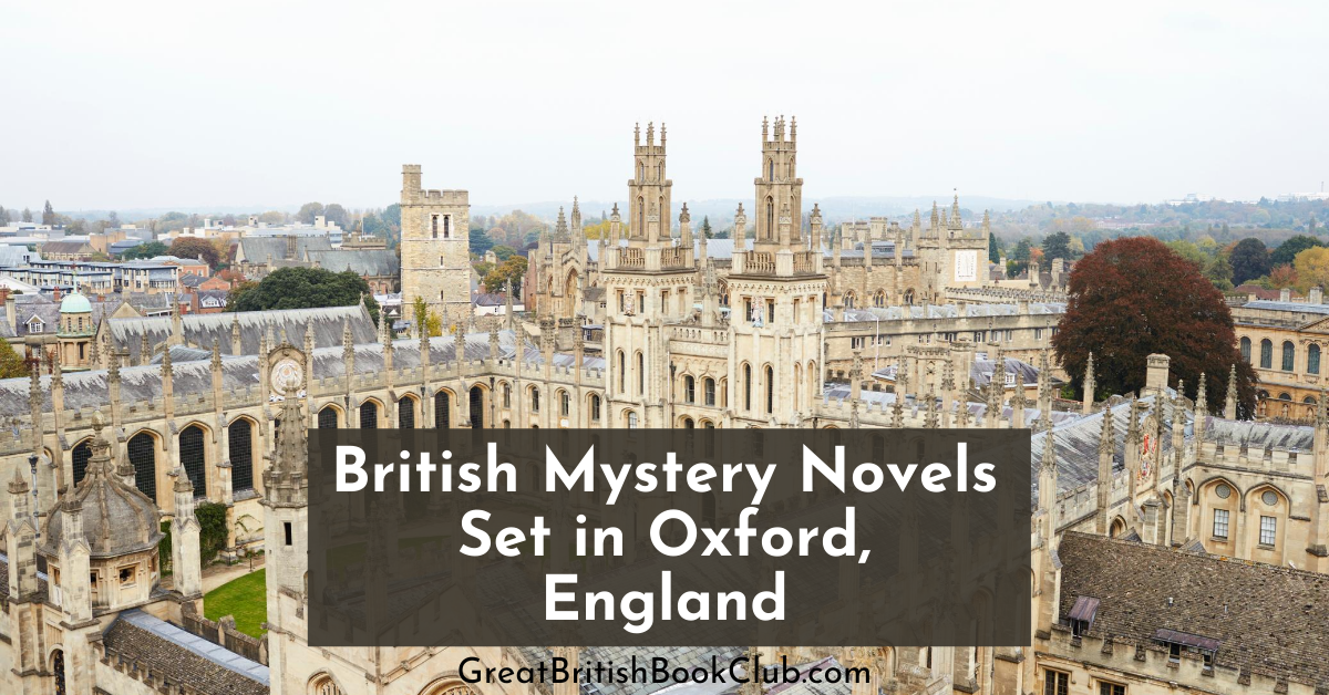 british mysteries set in oxford england