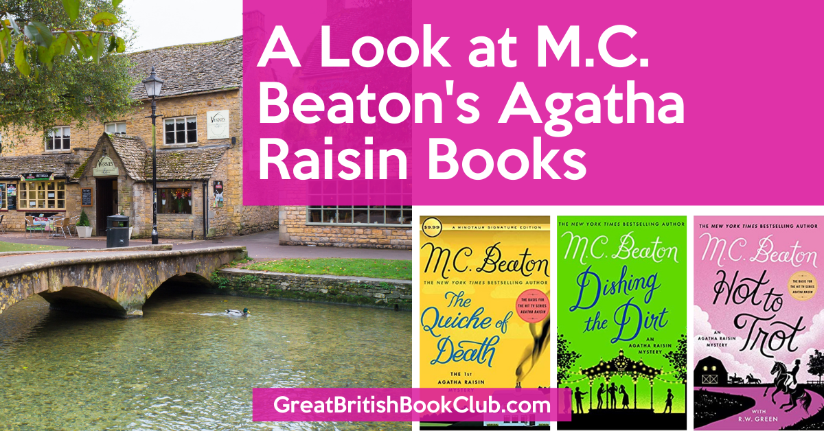 MC Beaton's Agatha Raisin Books in Order Feature